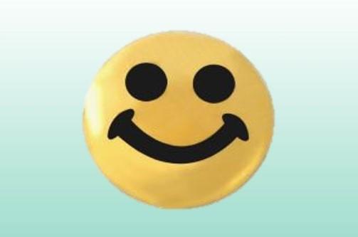 Smiley gold, 22kt